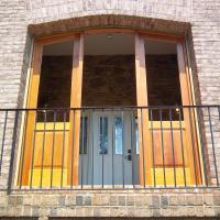 Mahogany Entry Door Set
