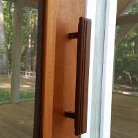 Ipe outer handle.