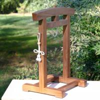 Japanese Temple Bell Stand Table Top Size