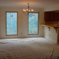 6' casement windows open up the room.