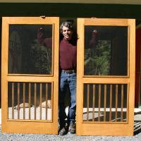 Willow Oak Screened Doors