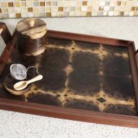 Walnut Tea Serving Tray