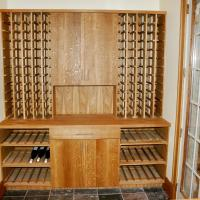 Standard bottles storage at top section and all size storage below.