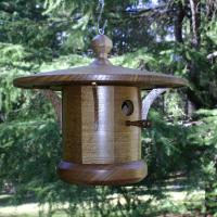 White Oak Arts and Crafts Style Songbird House