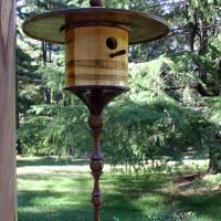 Long Traditional Birdhouse